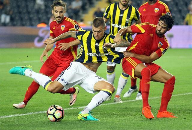 Fenerbahçe 1 puanı zor kurtardı