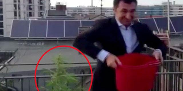 Cem Özdemir'in bu videosu başına dert oldu