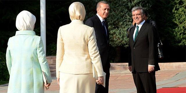 Erdoğan görevi Gül'den devraldı