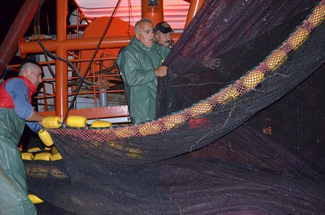 Balıkçılar eli boş döndü