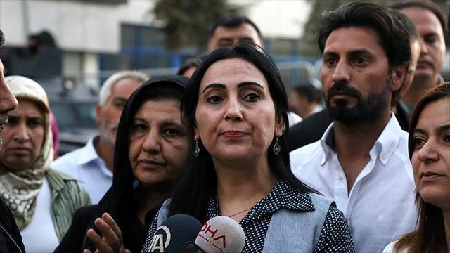 HDP Eş Genel Başkanı Yüksekdağ'a dava