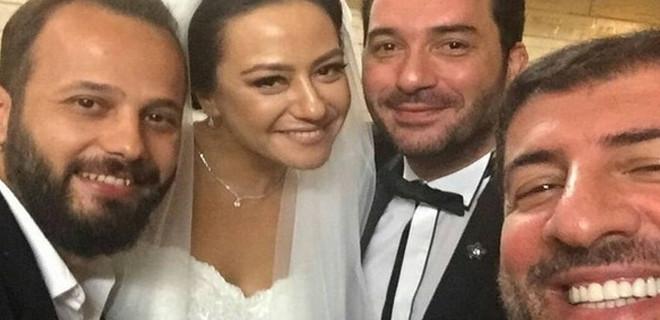 Ezgi Sertel evlendi