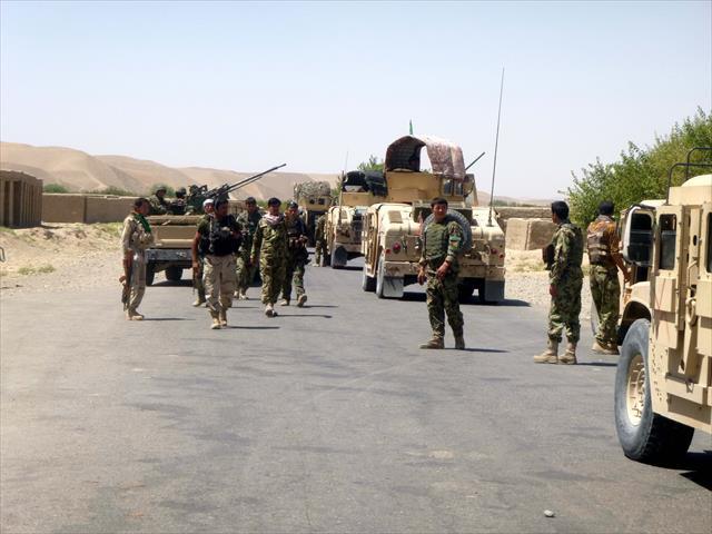 35 Taliban militanı öldürüldü