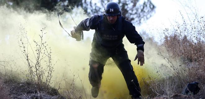 Gerçeğini aratmayan savaş muhabirliği eğitimi