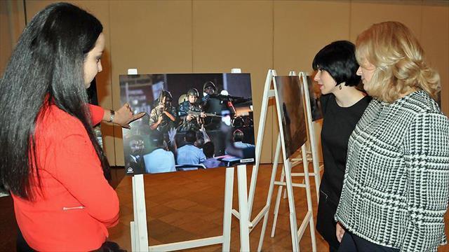 Bulgaristan'da AA'nın 15 Temmuz fotoğraf sergisi açıldı