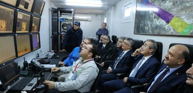 Bakan Işık, Hava Savunma Füzesi Hisarın test atışına katıldı