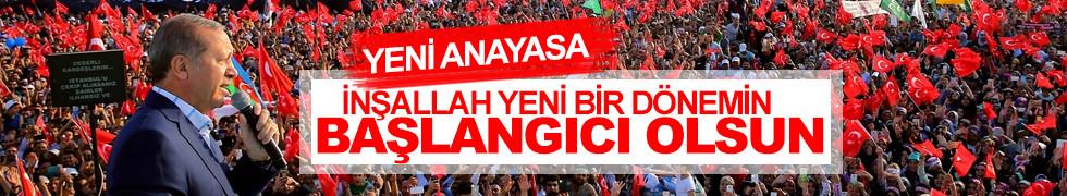Erdoğan'dan flaş yeni anayasa açıklaması