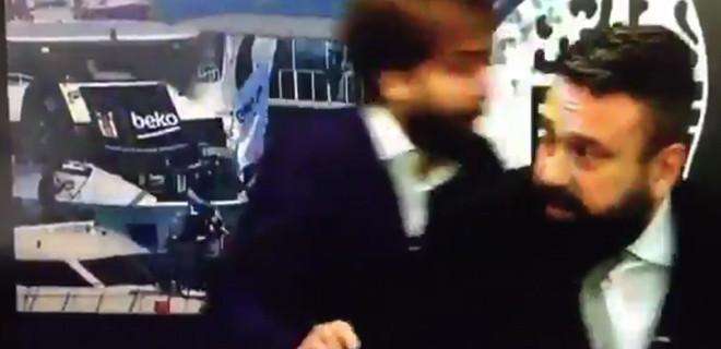 Patlama anında Beşiktaş TV