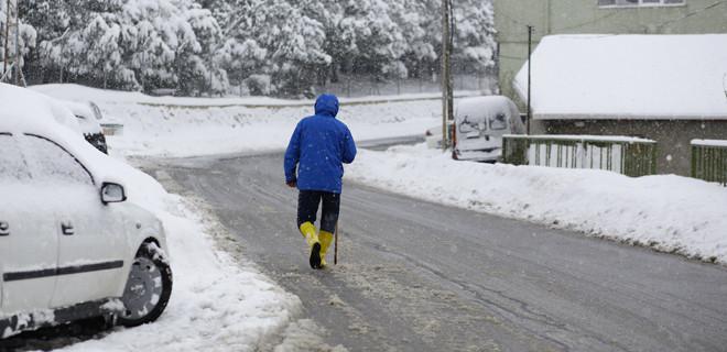 Trakya'ya yeni kar dalgası geliyor