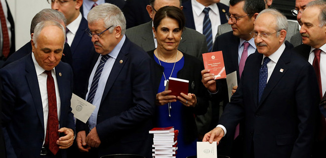 İşte CHP'nin yeni Anayasa planı!