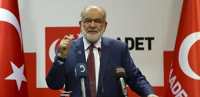 Saadet Partisi referandum için kararını açıkladı