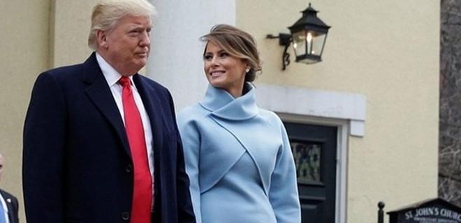Melanie Trump'ın elbisenin sırrı ortaya çıktı