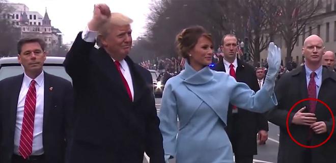 Trump'ı koruyan Amerikan gizli servisinin sahte kol taktiği
