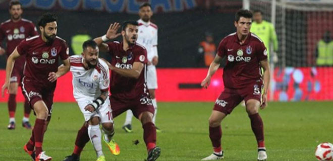 Trabzonspor, Ziraat Türkiye Kupası'na veda etti