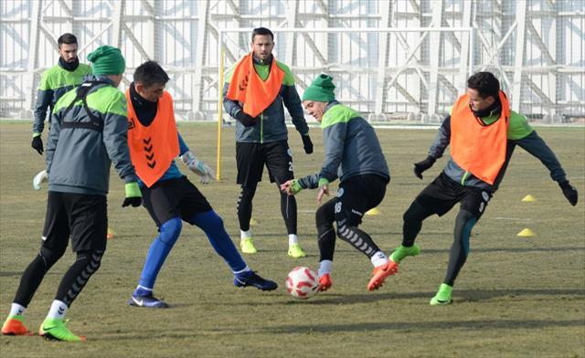 Konyaspor kupa hazırlıklarını sürdürdü