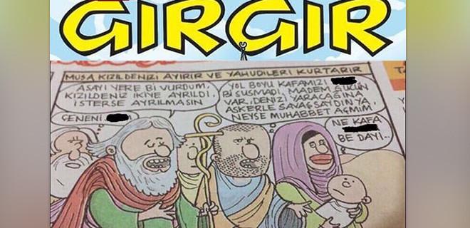 Skandal karikatürü yayınlayan Gırgır dergisi kapatıldı