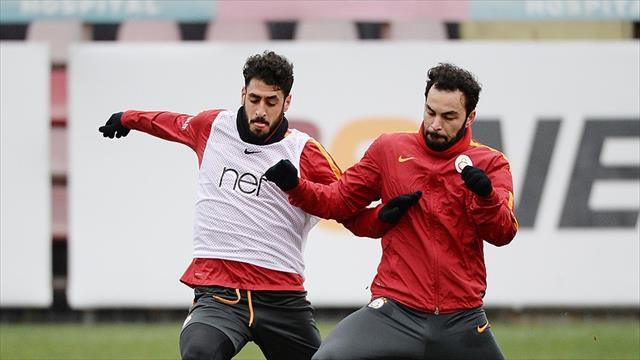 Galatasaray önemli isimlerden yoksun Rize'ye gitti