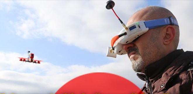 Aksaray'da ayakkabıcı 'toplama drone' yaptı