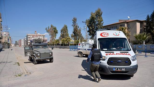 Mardin'de teröristlerle çıkan çatışmada 1 güvenlik görevlisi yaralandı