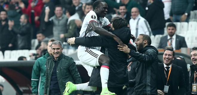 Beşiktaş adını son 16'ya yazdırdı