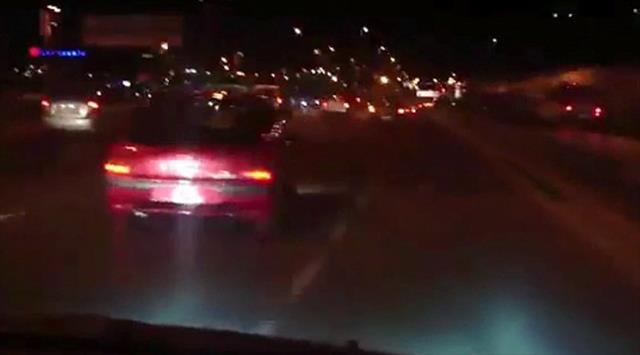 E-5'te trafik magandası terörü