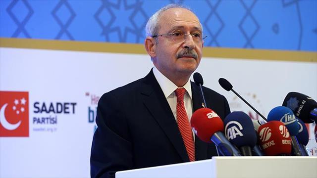 Kılıçdaroğlu, Erbakan'ı anma programına katıldı