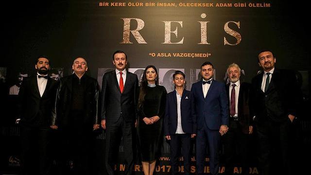 'Reis' filminin galası yapıldı