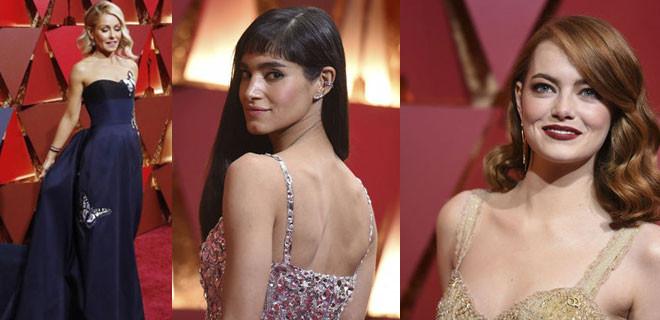 Oscar'da yıldız yağmuru...