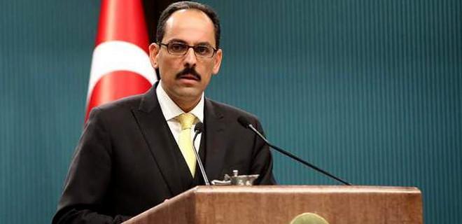 İbrahim Kalın: Almanya'nın PKK'nın yürüyüşüne izin vermesini kınıyoruz