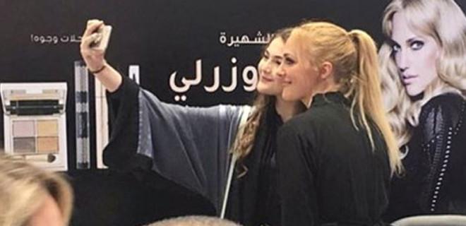 Meryem Uzerli'den Suudi Arabistan'da tehlikeli hareket: Kırbaçlanabilir!