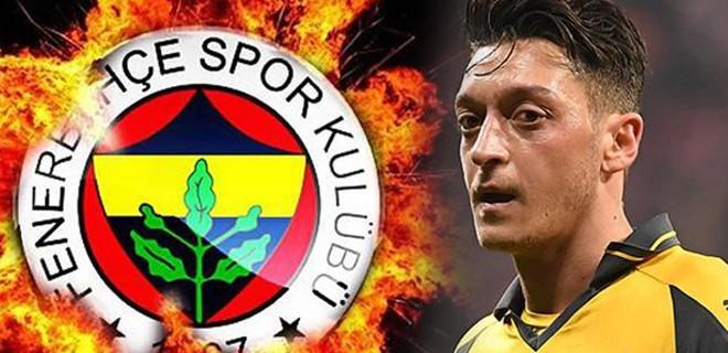 Mesut Özil'den Fenerbahçe açıklaması!