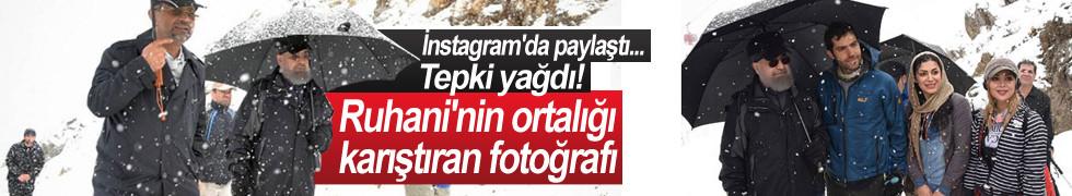Ruhani'nin ortalığı karıştıran fotoğrafı