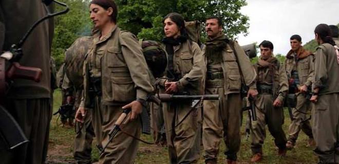 PKK'lılar birbirlerine girdi!