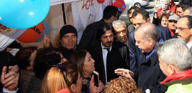 'Hayır' çadırında Erdoğan'dan gol yediler