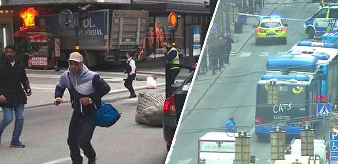 Stockholm'de bir kamyon yayaların arasına daldı: '3 kişi öldü' iddiası