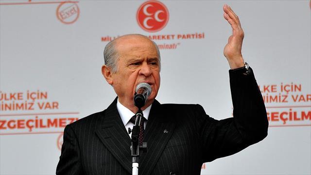 MHP Genel Başkanı Bahçeli: Esad yönetimi layığını bulmuş, cevabını almıştır