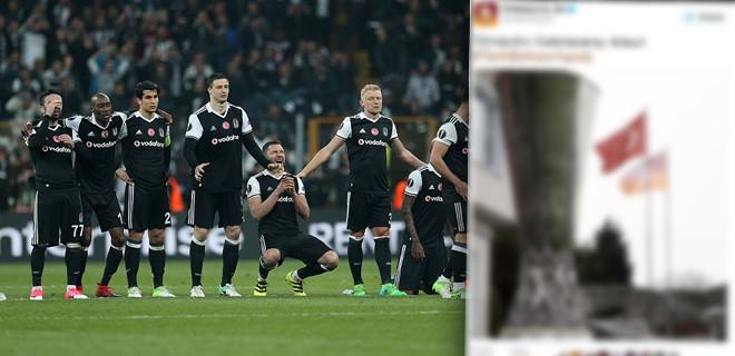 Galatasaray'dan Beşiktaş'a gönderme
