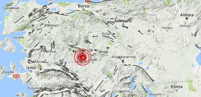 Manisa'da ard arda depremler