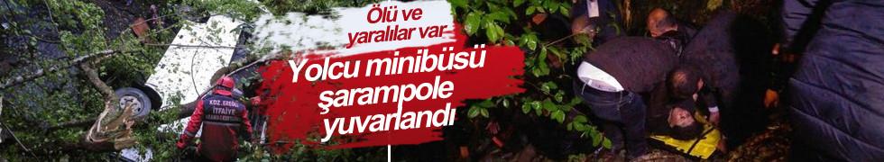 Zonguldak'ta feci kaza!