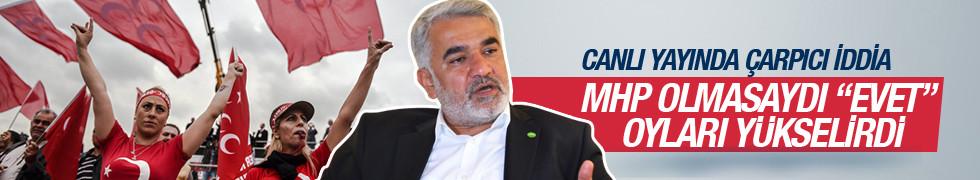 HÜDA-PAR Genel Başkanı Yapıcıoğlu'ndan MHP açıklaması