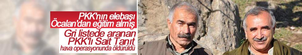 Gri listede aranan PKK'lı Sait Tanıt, bombardımanda ölmüş