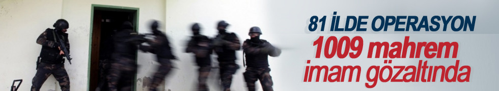 Soylu: 1009 mahrem imam gözaltına alındı
