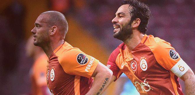 Galatasaray Osmanlıspor'u 2-0 yendi