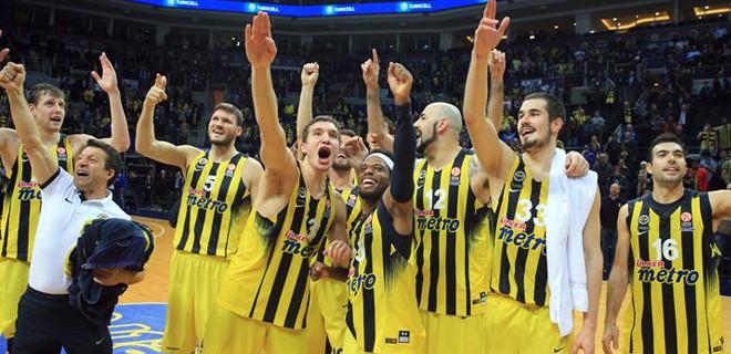 Fenerbahçe Final Four'da finalde