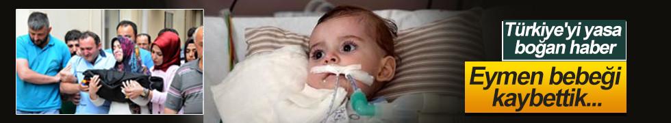 SMA hastası Eymen Çapkın kurtarılamadı