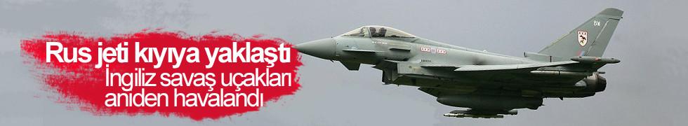 Rus jeti kıyıya yaklaştı, İngiliz savaş uçakları aniden havalandı