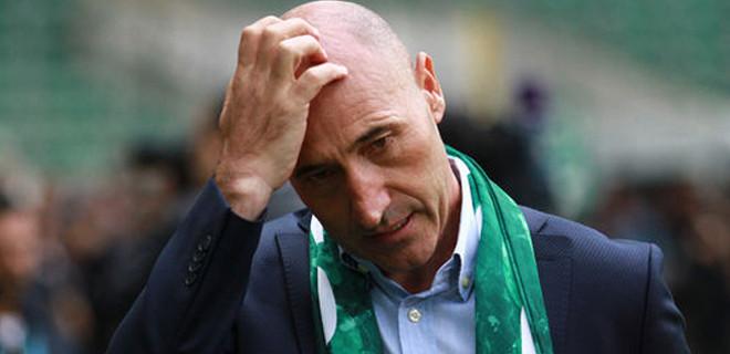 Süper Lig'e şok istifa