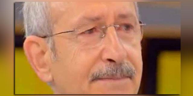 Kemal Kılıçdaroğlu canlı yayında ağladı