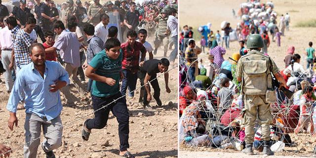Sınır kalktı! IŞİD'den kaçanlar Türkiye'ye alındı