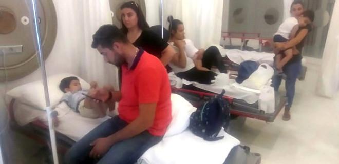 Aydın Kuşadası'nda 22 anaokulu öğrencisi yemekten zehirlendi